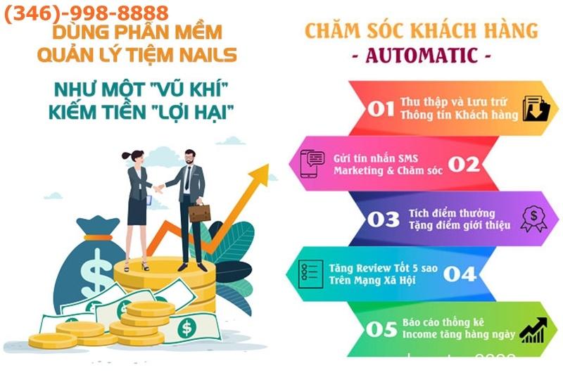 Dịch vụ làm quảng cáo tiệm Nails cho người Việt ở Houston Texas Mỹ - Quảng cáo Rao vặt Người Việt Houston : Cần Ngay dịch vụ Marketing
