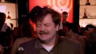 Ron Swanson Makes Wedding Rings