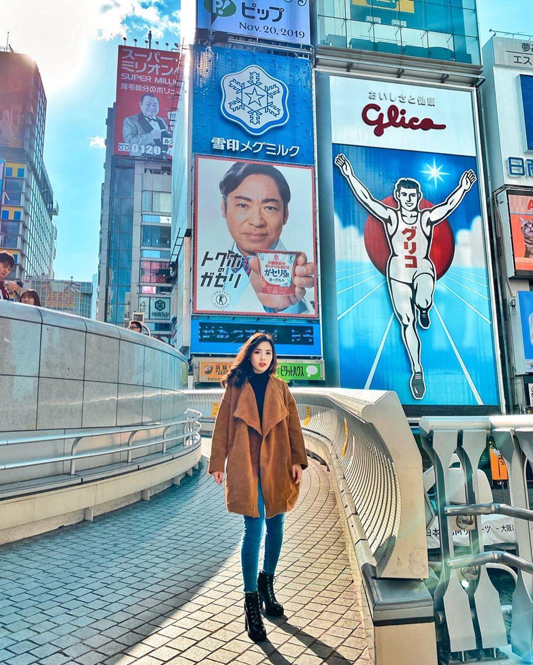 Tấm biển quảng cáo tồn tại hơn 80 năm ở Osaka
