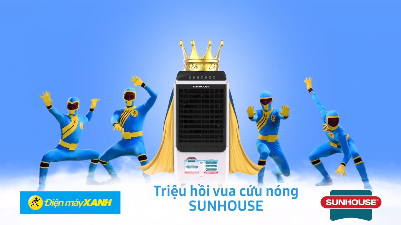 Nhìn lại các quảng cáo điều hoà, quạt điều hòa cực vui khi hè đến | bởi VIETSTARMAX - TVC Quảng Cáo