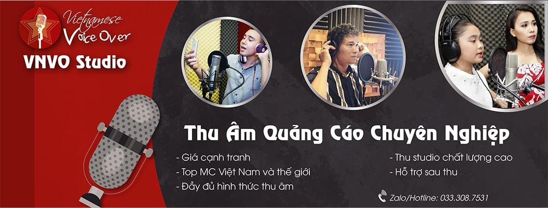 Dịch vụ thu âm quảng cáo chất lượng cao giá rẻ - VNVO Studio