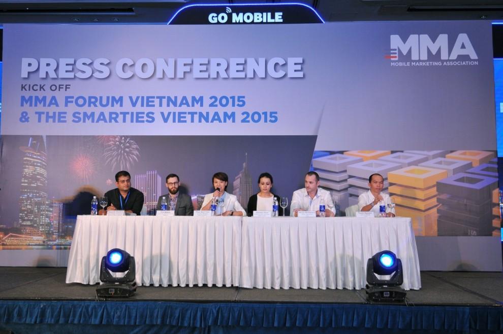 65 chiến dịch tiếp thị di động vào chung kết Smarties Việt Nam 2015