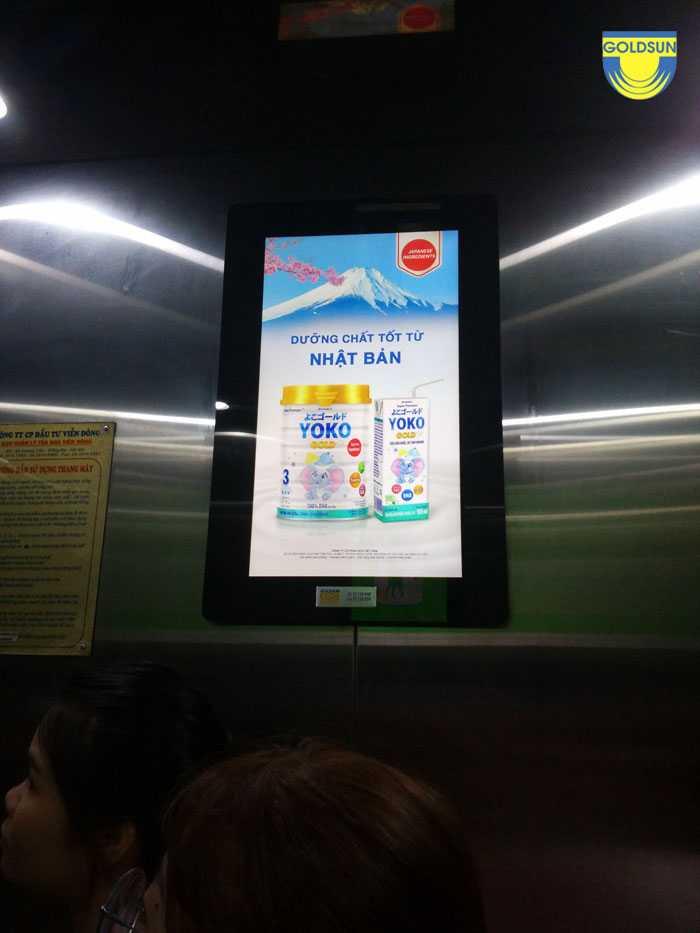 Báo giá quảng cáo trong thang máy - Cập nhật mới nhất