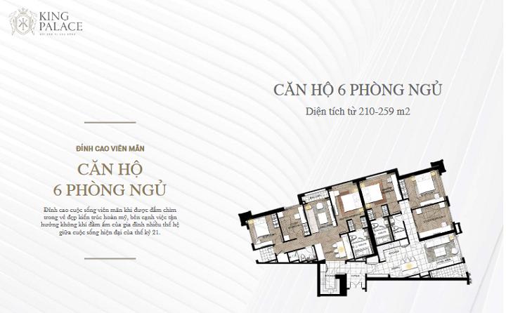 King Palace 108 Nguyễn Trãi - 30 Căn Ngoại giao trực tiếp chủ đầu tư Hoa Anh Đào