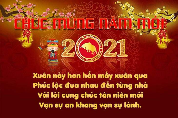 Tổng hợp những tin nhắn, hình ảnh chúc Tết 2021 đẹp và độc đáo